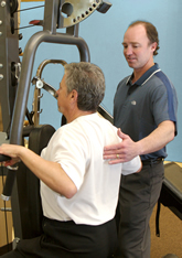 Jeff Harband, Physiotherapist